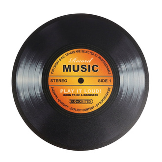 Mauspad Record Music - Gold, Rockbites