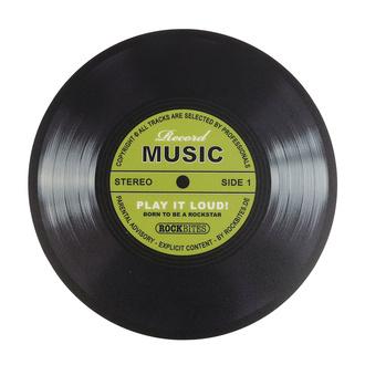 Mauspad Record Music - Grün, Rockbites