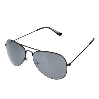 Sonnenbrille Pilot - Mattes Schwarz, Rockbites