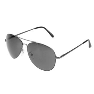 Sonnenbrille Pilot - Schwarz, Rockbites