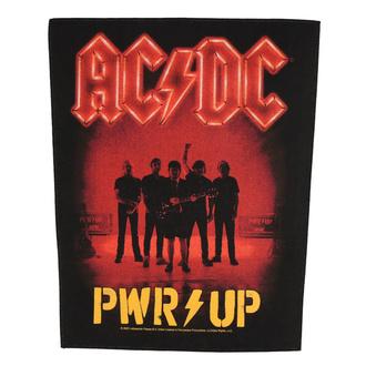 Patch Rückenaufnäher groß AC / DC - POWER UP - Band - RAZAMATAZ, RAZAMATAZ, AC-DC