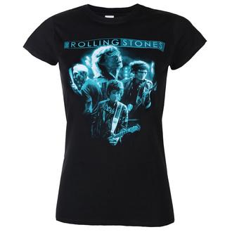 Damen T-Shirt Rolling Stones - Band Glow - ROCK OFF, ROCK OFF, Rolling Stones