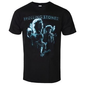 Herren T-Shirt Rolling Stones - Band Glow - ROCK OFF, ROCK OFF, Rolling Stones