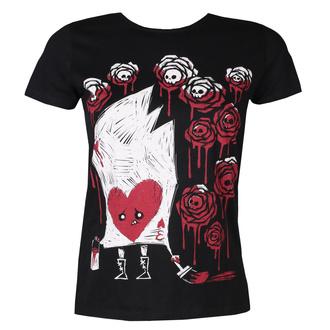 Damen Hardcore T-Shirt - Painting The Roses - Akumu Ink, Akumu Ink