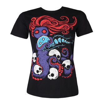 Damen Hardcore T-Shirt - In The Darkness - Akumu Ink, Akumu Ink