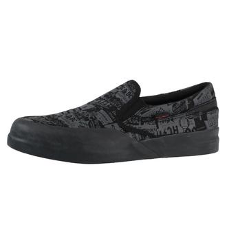 Damen-Schuhe DC - AC / DC - TNT. - SLIP ON - SCHWARZ, DC, AC-DC