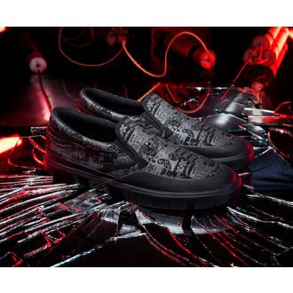 Schuhe DC - AC / DC - TNT. - SLIP ON - SCHWARZ, DC, AC-DC