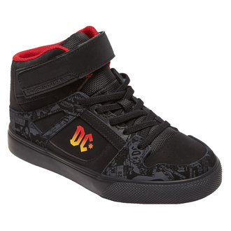 Damen-Schuhe DC - AC / DC - TNT. - HIGH-TOP - SCHWARZ GRADIENT, DC, AC-DC