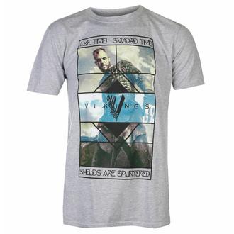 Herren T-Shirt VIKINGS - AXEL TIME - PLASTIC HEAD, PLASTIC HEAD