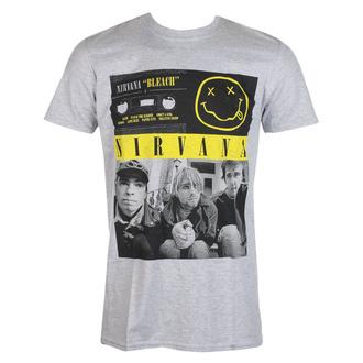 Herren T-Shirt Nirvana - Bleach Cassettes - ROCK OFF, ROCK OFF, Nirvana