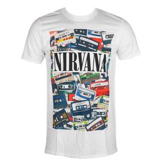 Herren T-Shirt Nirvana - Cassettes - ROCK OFF, ROCK OFF, Nirvana