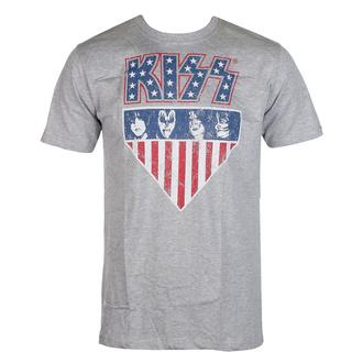 Herren T-Shirt Kiss - Stars And Stripes - ROCK OFF, ROCK OFF, Kiss