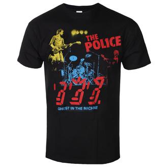 Herren T-Shirt Metal Police - POLICE IN CONCERT - LIQUID BLUE, LIQUID BLUE, Police