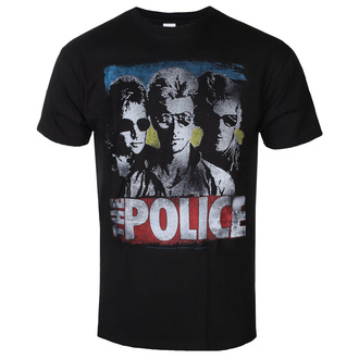 Herren T-Shirt Metal Police - GREATEST HITS - LIQUID BLUE, LIQUID BLUE, Police