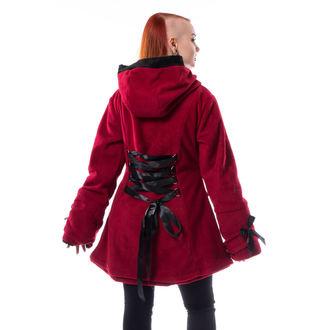 Damen Mantel POIZEN INDUSTRIES - ALISON - ROT, POIZEN INDUSTRIES
