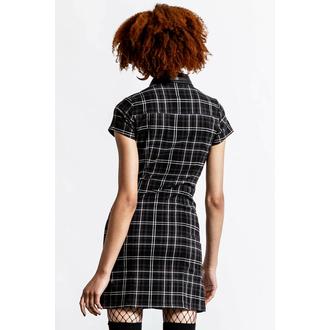 Damen Kleid KILLSTAR - All Attitude Cut-Out - ASH TARTAN, KILLSTAR