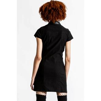 Damen Kleid KILLSTAR - All Attitude Cut-Out - SCHWARZ, KILLSTAR
