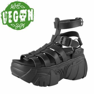 Damen Schuhe (Sandalen) ALTERCORE - Pompeji Vegan - Schwarz, ALTERCORE