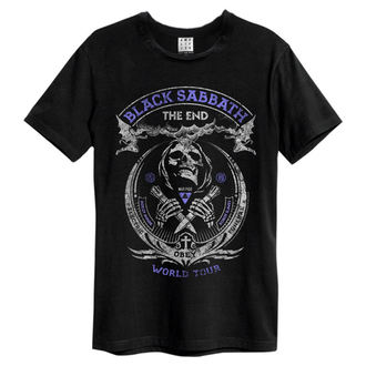 Herren T-Shirt Metal Black Sabbat - Black - AMPLIFIED, AMPLIFIED, Black Sabbath