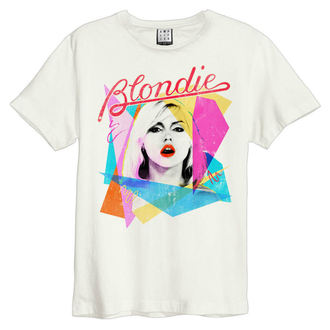 Damen T-Shirt BLONDIE - AHOY 80`S - JAHRGANG WEISS - AMPLIFIED, AMPLIFIED, Blondie
