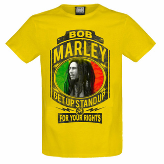 Herren T-Shirt BOB MARLEY - FIGHT FOR YOUR RIGHTS - YEL LOW RAVEN - AMPLIFIED, AMPLIFIED, Bob Marley