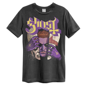 Herren T-Shirt GHOST - ALTER EGOS - HOLZKOHLE - AMPLIFIED, AMPLIFIED, Ghost