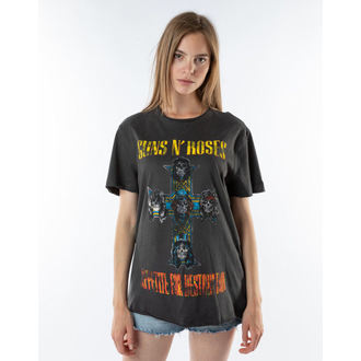 Herren T-Shirt Guns N' Roses - APPETITE FOR DESTRUCTION - HOLZKOHLE - AMPLIFIED, AMPLIFIED, Guns N' Roses