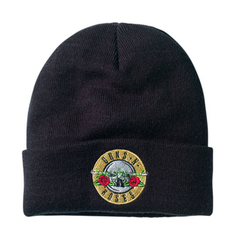 Beanie Mütze Guns N' Roses - Bullet Logo - Schwarz - AMPLIFIED, AMPLIFIED, Guns N' Roses