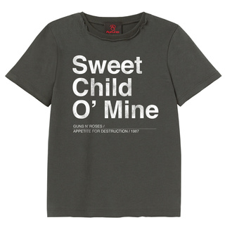 Kinder Metal T-Shirt Guns N' Roses - Sweet Child O Mine - AMPLIFIED - ZAV450SCM