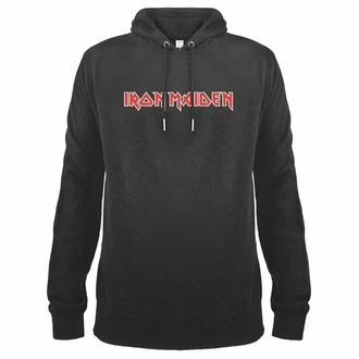 Männer Sweatshirt IRON MAIDEN - LOGO, AMPLIFIED, Iron Maiden