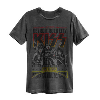 Herren T-Shirt Metal Kiss - Vintage Poster - AMPLIFIED, AMPLIFIED, Kiss