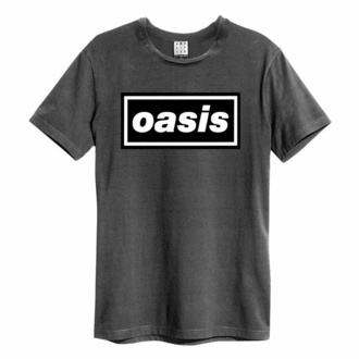 Herren T-Shirt OASIS - LOGO - CHARCOAL, AMPLIFIED, Oasis