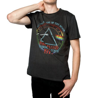Herren T-Shirt PINK FLOYD - 1972 TOUR - HOLZKOHLE - AMPLIFIED, AMPLIFIED, Pink Floyd