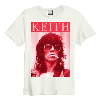 Herren T-Shirt ROLLING STONES - KOOL KEEF - VINTAGE WHITE - AMPLIFIED, AMPLIFIED, Rolling Stones