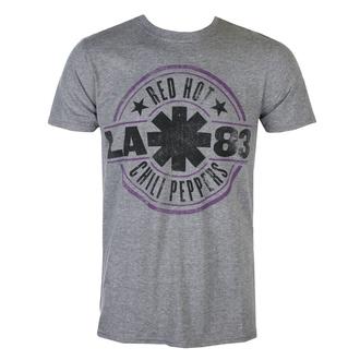 Herren T-Shirt Red Hot Chili Peppers - LA 83 - Graphit Heidekraut, NNM, Red Hot Chili Peppers