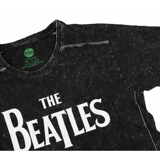 Herren T-Shirt Beatles - Drop T Logo - Snow Wash, ROCK OFF, Beatles