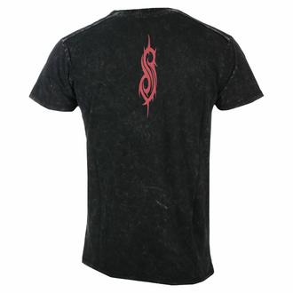 Herren T-Shirt Slipknot - Logo - Snow Wash, ROCK OFF, Slipknot