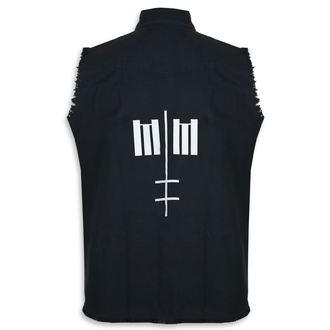 Herren Weste Marilyn Manson - Cross Logo - RAZAMATAZ, RAZAMATAZ, Marilyn Manson
