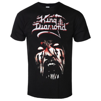 Herren T-Shirt Metal King Diamond - PUPPET MASTER FACE - PLASTIC HEAD, PLASTIC HEAD, King Diamond