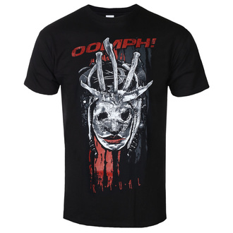 Herren T-Shirt Metal Pep! - Mask - NAPALM RECORDS, NAPALM RECORDS, Oomph!