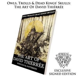 Book Owls, Trolls, Dead Kinga's Skulls: Art Of David Thiérrée (signed), CULT NEVER DIE