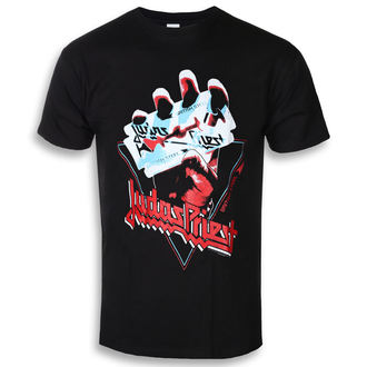 Herren T-Shirt Metal Judas Priest - British Steel Hand Triangle - ROCK OFF, ROCK OFF, Judas Priest