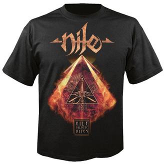 Herren T-Shirt Metal Nile - Vile nilotic rites - NUCLEAR BLAST, NUCLEAR BLAST, Nile