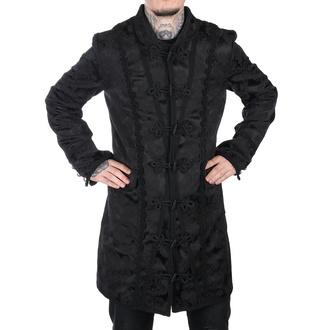 Herren Mantel  Aderlass - Classic Coat Brocade Black, ADERLASS