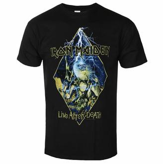 Herren-T-Shirt Iron Maiden - Live After Death Diamond BL - ROCK OFF, ROCK OFF, Iron Maiden