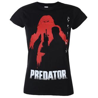 Damen T-Shirt Predator - Poster - Schwarz - HYBRIS, HYBRIS, Predator