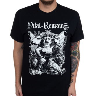 Herren T-Shirt Vital Remains - Asmodaeus - Schwarz - INDIEMERCH, INDIEMERCH, Vital Remains