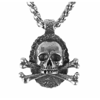 Anhänger Halskette Schädel, FALON