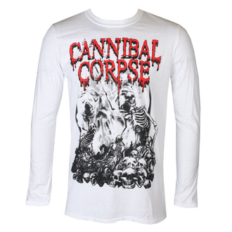 Herren Longsleeve Metal Cannibal Corpse - PILE OF SKULLS 2018 - PLASTIC HEAD, PLASTIC HEAD, Cannibal Corpse