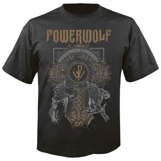 Herren T-Shirt Metal Powerwolf - Wolf cross - NUCLEAR BLAST, NUCLEAR BLAST, Powerwolf